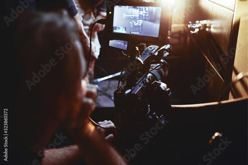 Cuadros en Lienzo Video production backstage