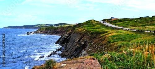 Fotografiet North America, Canada, Province of Nova Scotia, Cape Breton, scenic cabot trail