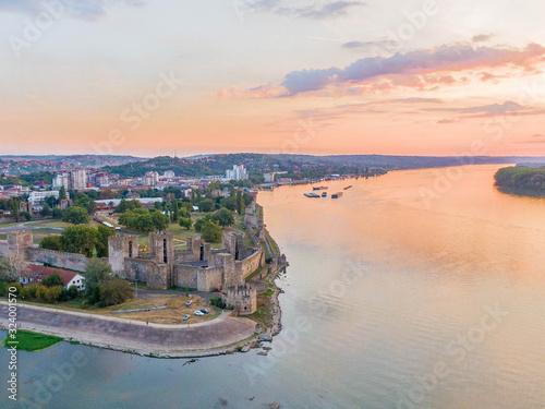 Canvas Print Smederevo fortress