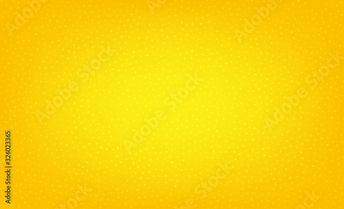 Abstract yellow dotted background. Circles pattern. Cover with spots. Orange background with dots. Abstract colored bubbles effect. Dotted vector
