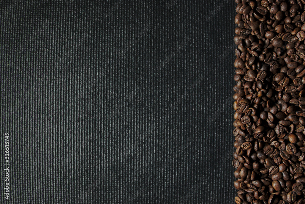 Fresh coffee texture, coffee background concept
