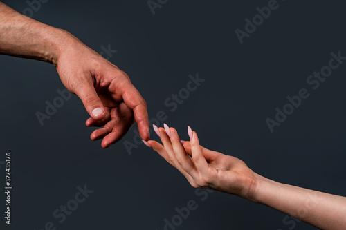 Obraz na plátně Touch