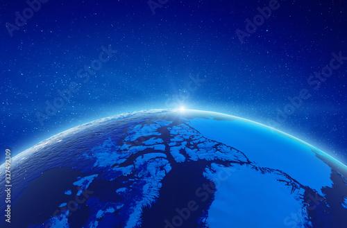 Fotografie, Obraz Arctic - north pole