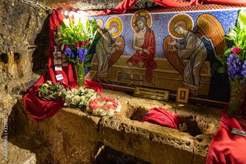 Fotografia The prison of Jesus Christ in Jerusalem in Jerusalem