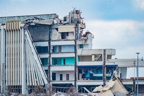 Fotografia Dismantling large structures