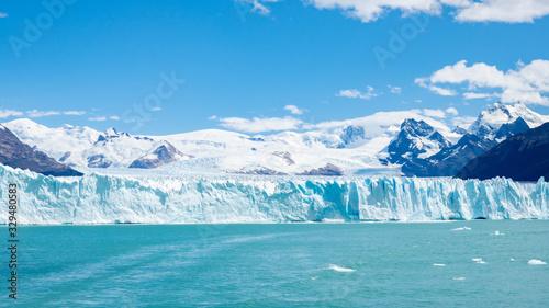 Obraz na plátně 氷河