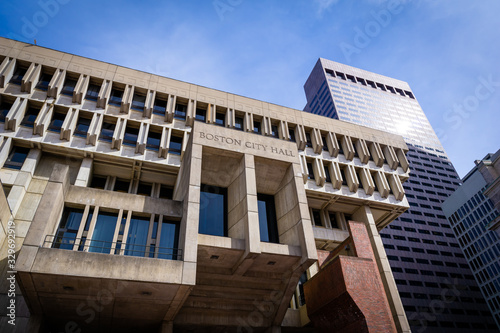 Fényképezés Boston City Hall