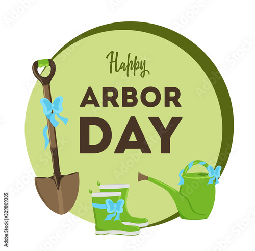 Obraz na plátne National Arbor Day
