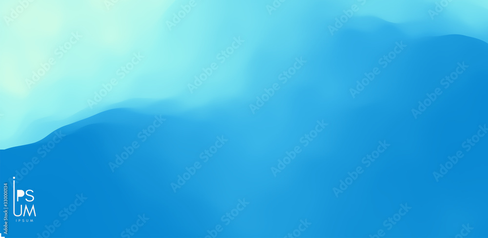 Water surface. Blue abstract background. Vector illustration for design. <span>plik: #330000134   autor: Login</span>