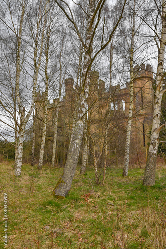 Fotografia, Obraz Crawford Priory near Cupar, Fife, Scotland