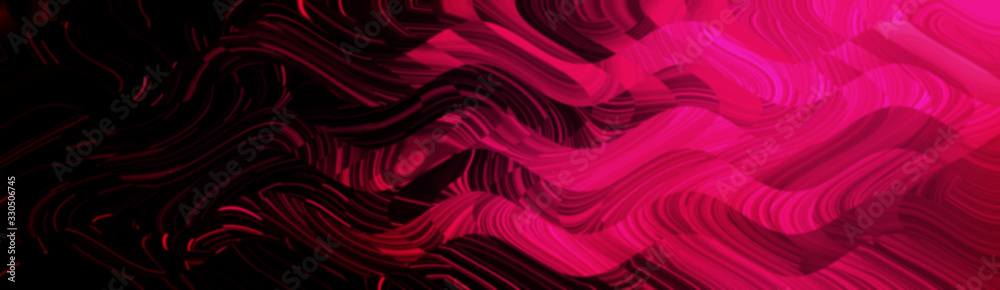 Bright light red black neon glow flux effect wave <span>plik: #330506745 | autor: zenobillis</span>