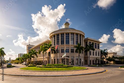 Vászonkép Doral City Hall Miami FL USA