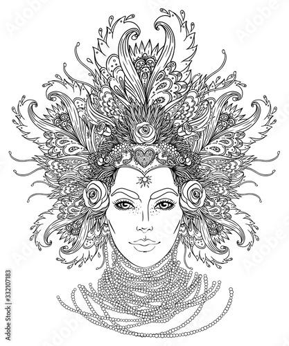 Photo Tribal Fusion Boho Goddess