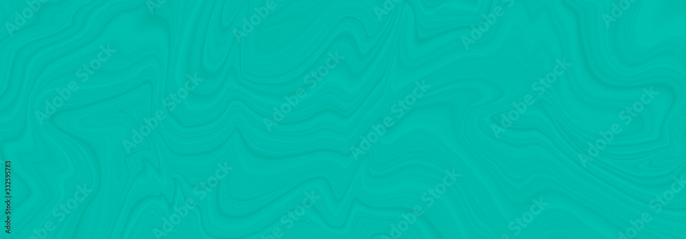 Neo mint background in a modern trend shade, a beautiful textural eyelash with waves and patterns. Template for screensaver or packaging, abstract illustration in blue. <span>plik: #332595783   autor: Nadzeya Pakhomava</span>