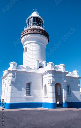 Stampa su Tela Majesty of Byron Bay lighthouse on a clear sunny day, Gold Coast, Australia
