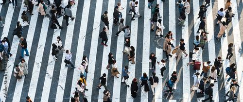 Foto Shibuya crossing
