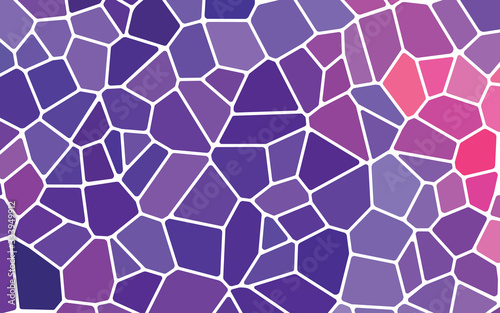 Fotografia, Obraz abstract vector stained-glass mosaic background