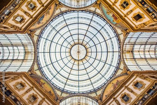 Carta da parati Galleria Vittorio Emanuele Dome Milan