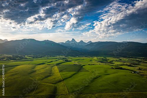 Obraz na plátně Grand Teton Mountain Range