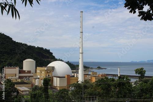 Obraz na plátně USINA NUCLEAR ANGRA I, II E III - ANGRA DOS REIS - RIO DE JANEIRO - BRASIL