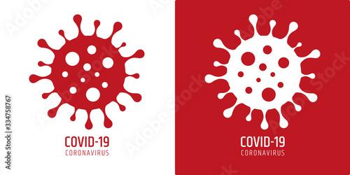 Leinwand Poster emergenza cronavirus, covid-19, epidemia