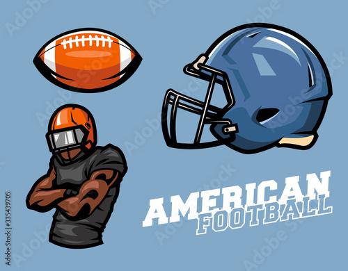 Photo american football set design