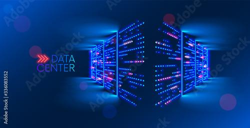 Fotomural Data center