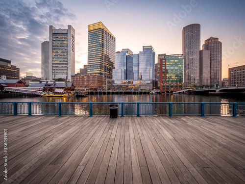 Fotomural Boston