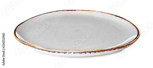 Fotografie, Obraz Clean plate on white background