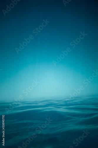 Canvas Print Underwater view of sea