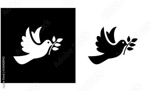 Obraz na płótnie Birds icon set, animal vector