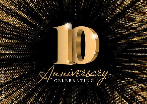 Billede på lærred Anniversary 10