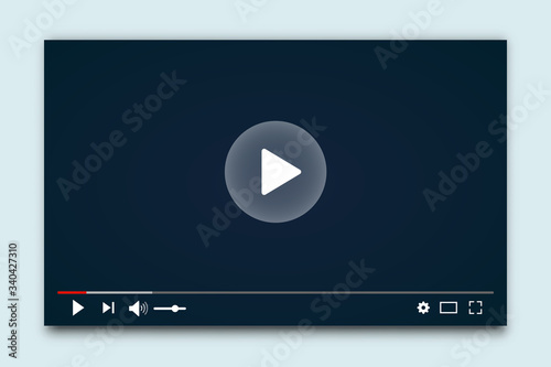 Carta da parati Desktop web video player