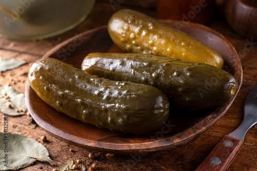 Fotomural Fermented Kosher Dill Pickles