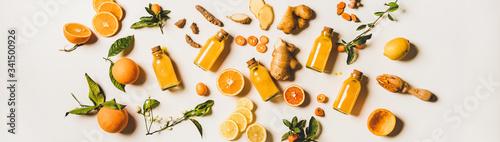 Canvas Print Immune boosting natural vitamin health defending drink