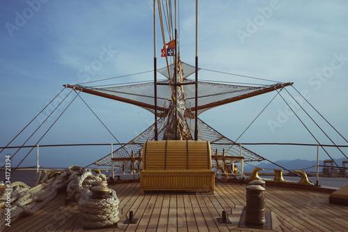 Fotografie, Obraz Prua nave nel mare
