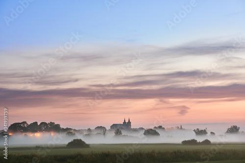 Fototapeta premium Panorama miasta Krasnystaw.