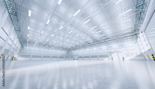 Fotografia Hangar or industrial building