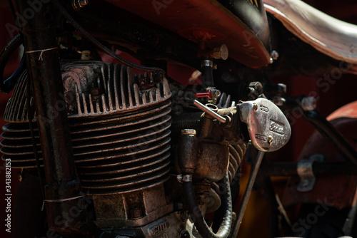 Wallpaper Mural Vintage Motorcycle