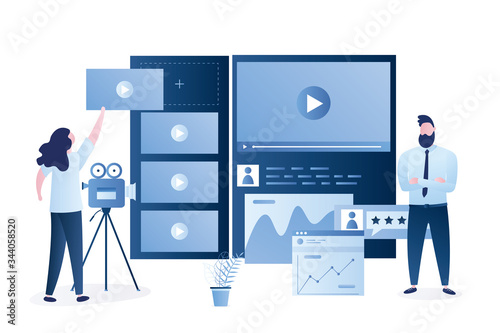 Canvas-taulu Video marketing platform