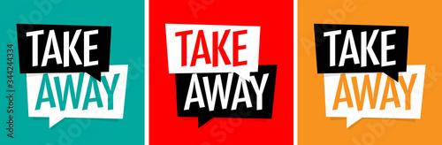 Obraz na plátně Take away