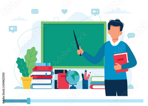 Photo Online learning concept