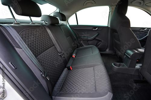 Stampa su Tela Clean modern car back seats