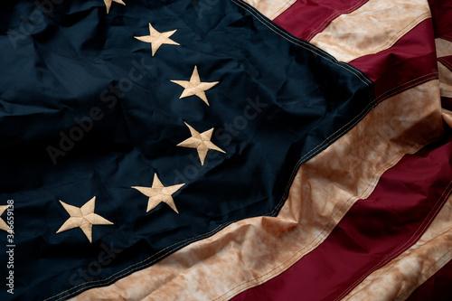 Valokuva Revolutionary war, patriotism and birth of the United Sates of America concept w