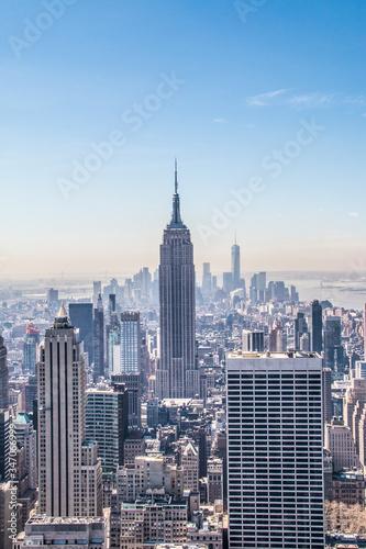 Slika na platnu View Of Empire State Building Against Sky