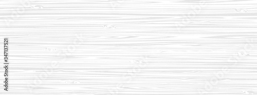 Fotografie, Obraz White wooden surface background, vector plank wood texture