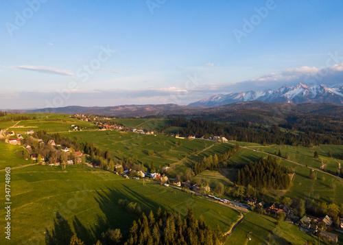 Rzepiska, Białka tatrzańska - wieś pod tatrami
