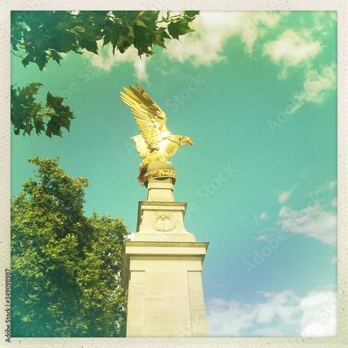 Fototapeta Low Angle View Of Royal Air Force Memorial Against Sky