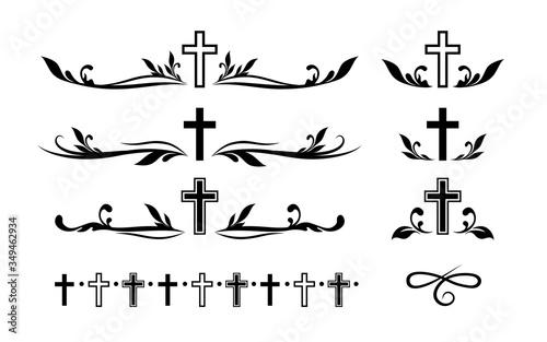 Funeral ornamental decorations Fotobehang