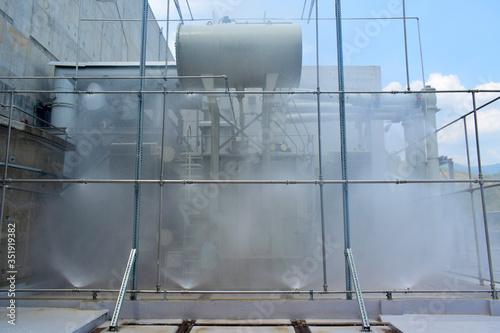 Wallpaper Mural Testing fire sprinkler systems,Deluge valve system testing, Power transformers,P
